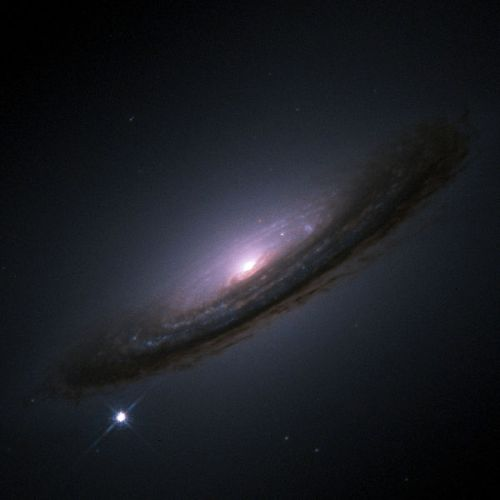 Captura de una supernova por el telescopio Hubble