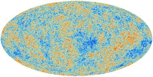 Esta es la imagen de la radiación cósmica de fondo tomada por la misión PLANCK.