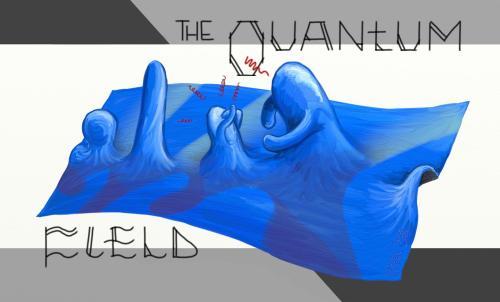 Los campos (fields) cuánticos (quantum) tienen excitaciones que cumplen todos los requisitos para poder ser denominadas partículas.