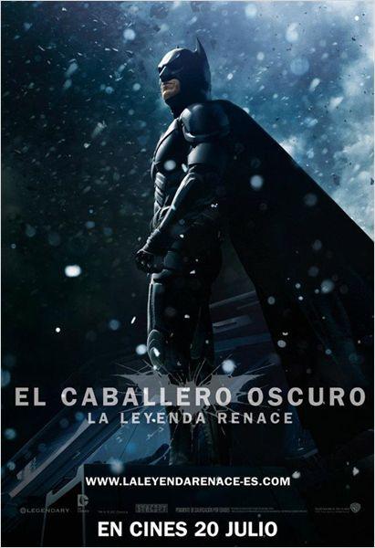 El caballero oscuro poster