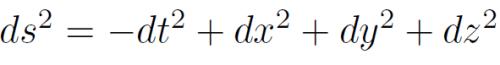 minkowskimetric