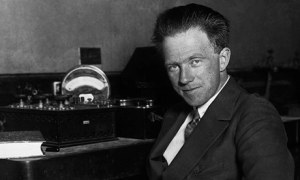 Werner Heisenberg in 1925. He claimed after the war he had been working against Hitler.