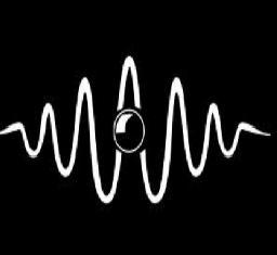 Las partículas pueden presentar características ondulatorias y su longitud de onda, distancia entre dos picos de la onda, está relacionada con la velocidad de la partícula.