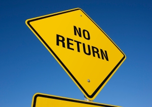 no-return-sign