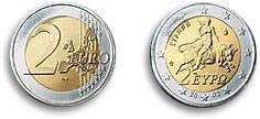 2002 2 Euro coin